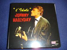 """""""L'IDOLE"""" - Johnny HALLYDAY - CD Réplique effet Vinyle"""
