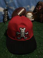Walt Disney Mickey Mouse adjustable snapback hat cap red H27