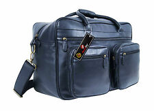 Large Travel Holdalls Weekend Overnight Bag Faux Pu Leather Bags Roamlite RL752M
