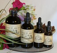 PAU D'ARCO Tincture Extract antifungal candida yeast infection natural ORGANIC ~