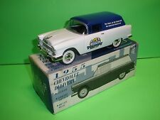 1955 CHEVY NOMAD CHEVROLET 1:25 Liberty Classics Die Cast CHROME SPECIALTIES