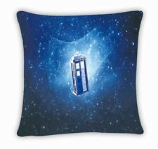 Tardis Dr Doctor Who Police Box Throw Pillow Cushion Case Cover Bed Decor