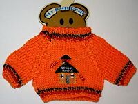 School House Plush Animal Teddy Bear Knit Sweater Outfit fits 11-13 inch New MOC