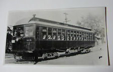 USA491 KANSAS CITY LEAVENWORTH & WESTERN Railway TROLLEY #23 PHOTO Missouri USA