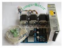 DUAL SAHFT Stepping Motor Nema23 270oz-in 3A  Board(TB6560) CNC Kit-Longs Motor