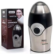 Electric James Martin Steel Mini Grinder Coffee Spice Herbs Bean Burr Maker Wahl