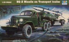 Trumpeter 1:35 HQ-2 Missile on Transport Trailer Plastic Model Kit #00205