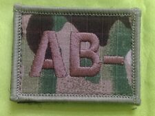 AB Negative Mtp Blood Group Patch