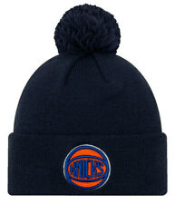 New York Knicks New Era NBA Knit Hat On Court City Edition Beanie Stocking Cap