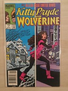 KITTY PRIDE & WOLVERINE #1-6 COMPLETE MINI SERIES (1984) NM High Grade