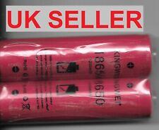 2 x  KingWei 2Pcs/lot 18650 3.7v Rechargeable li-ion Battery 1200mah Li-ion