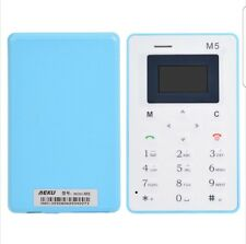 World's Smallest Cell Phone Credit Card Size Micro SIM Unlocked GSM mini Mobile