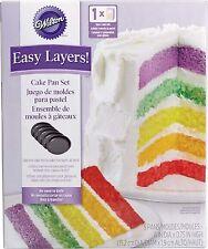 Easy Layers 6in. Cake Pan Set 5pcs Wilton Baking Supplies