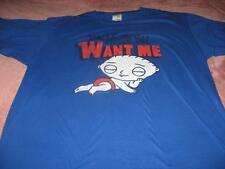 Family Guy Stewie You Know You Want Me  Adult Large T-Shirt