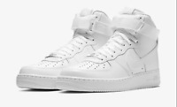 Nike Air Force 1 High '07 Triple White CW2290-111 Basketball Shoes Men's NEW