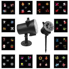 LED Laser Licht Projektor Außen Beleuchtung Gartenlicht Weihnachten Lichterkette