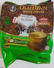 Genuine Old Town Instant White Coffee 3 in 1 OldTown Hazelnut 40G x 15 Sachets