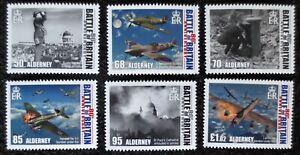 Alderney - 2020 - Battle of Britain - MNH Set of 6 stamps