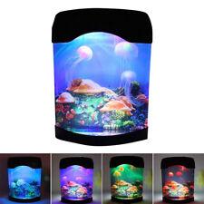 Aquarium Night Light Lamp LED Light Artificial Seajelly Tank Swimming Mood Lamp