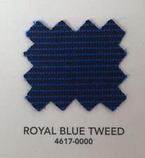 "Sunbrella Acrylic Binding 3/4"" Sewing Edge Trim Royal Blue Tweed 10 Yards"