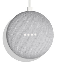 Google Home Mini Powered by Google Assistant Voice Enabled- CHALK -New in Sealed