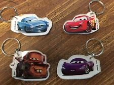 Lot Of 10 4 Packs State Farm Disney CARS 2 Keychains  Mater Holley Finn McQueen