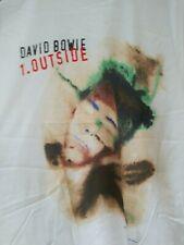 David Bowie 1995 Outside Tour vintage licensed concert shirt Xl