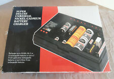 Super Deluxe Universal Nickel-Cadmium Battery Charger BC-11 NEW AAA,AA,C,D,N,9V