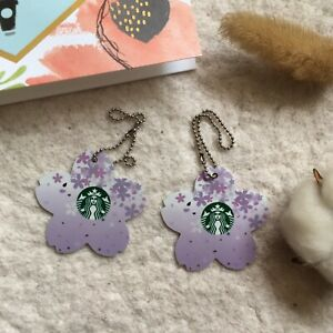 China 2020 Purple Mini Sakura Starbucks Card