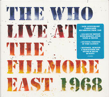 THE WHO Live at the Fillmore East 1968 | 2CD Neuware - Polydor 2018