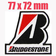 BRIDGESTONE Embroidered Iron on Patch MotoGP Honda Yamaha Porsche Racing team