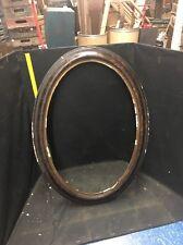 """Vintage Wooden Oval Frame 17x23"""""""