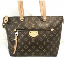 Authentic Louis Vuitton Iena MM Monogram Handbag Carryall Tote