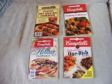 4 Favorite Recipes Campbell Holiday, One Dish, Dry Soup Mix Cookbooks