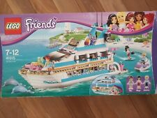 Lego Friends Dolphin Cruiser 41015 - 100% Complete set with instructions