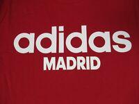 ADIDAS MADRID SPAIN - RED MEDIUM T-SHIRT F1495