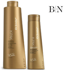 JOICO K-PAK SHAMPOO 1000 ml & balsamo 300 ML DUO