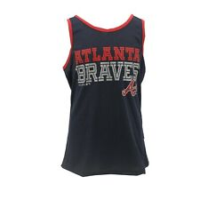 Atlanta Braves MLB Genuine Apparel Kids Youth Girls Size Athletic Tank Top Shirt