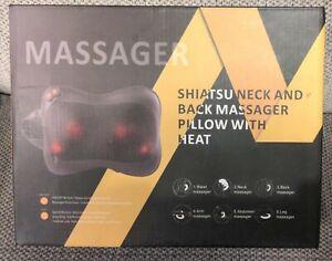 Shiatsu Neck And Back Massager Pillow with Heat