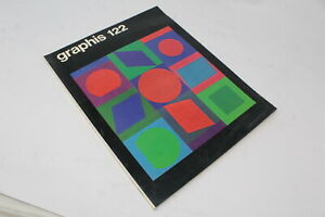 GRAPHIS GRAPHIC & APPLIED ART  N° 122 1965 [Z72-010]