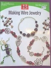WIRE JEWELRY BOOKLET BEADING 13 EASY PROJECTS BEAD & BUTTON MAG PUBLICATION