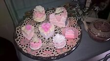 FAKE CAKES X 7 MADE USING CATH KIDSTON DESIGN SHOW HOME PINK SHABBY CHIC KITCHEN