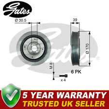 Gates Torsion Vibration Damper Crankshaft Pulley TVD1013A  - 5 YEAR WARRANTY