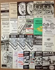 More details for hull rugby league programmes 1954 - 1996