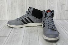 Adidas Vs Hoops Mid Sneaker - Men's Size 13 Gray/Black