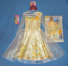 DISNEY CINDERELLA Princess Wedding Costume Dress-Deluxe 3T-4T-Tiara;necklace;NWT