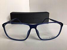 New PORSCHE DESIGN P 8269 P8269 D 58mm Rx Blue Eyeglasses Frame Japan