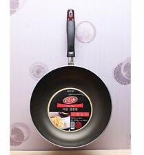 LOTTE Nonstick Marble 28cm Frying Pan Safe Kitchen Cookware Cooking Wok v_E