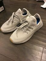 Adidas Deerupt Runner Shoes Sneakers New Grey Men's Size 7 CQ2628