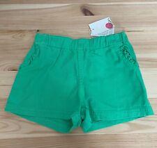 NWT MINI BODEN Girls Green Shorts Size 7Y